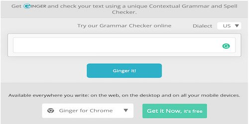Ginger Free Proofreading Tool